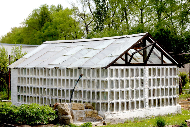 Slavonice Recycling Glass House